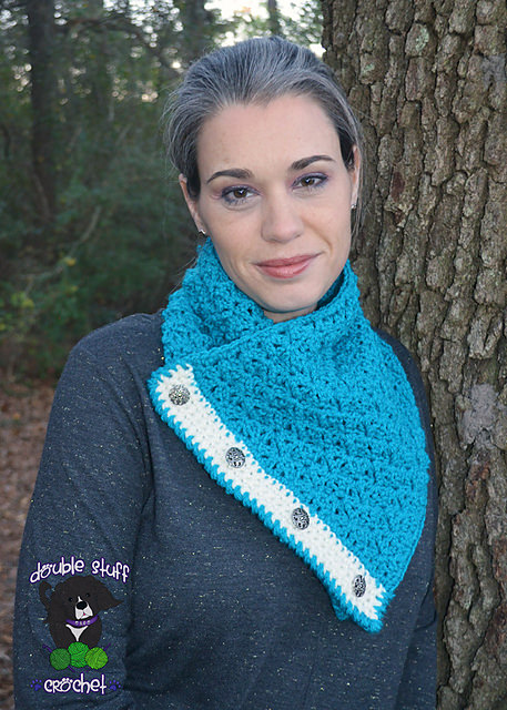 Celestial Button Cowl by Charmed by Ewe
