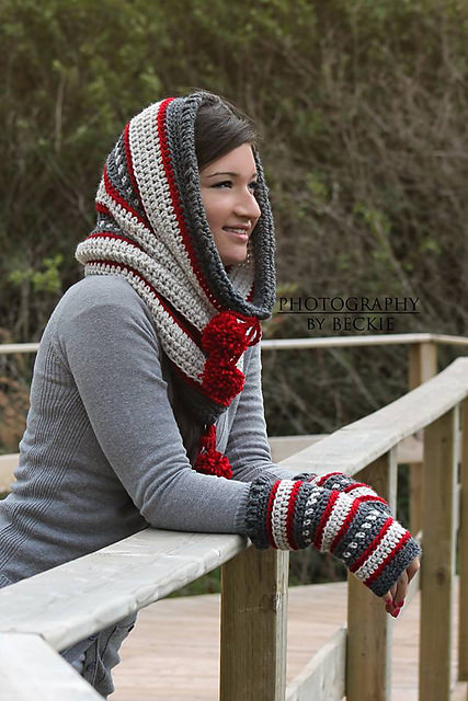 Dylan Hooded Cowl by Sincerely Pam copy