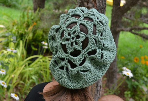 Flower Top Tam by UnravelMe