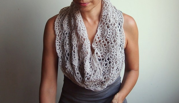 Infinity Loop Shell Scarf by Accessorise
