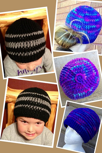 Sophie's Ponytail Beanie by Snappy Tots