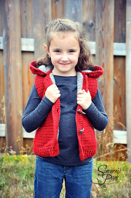 The Marek Puffy Vest (child sizes) by Sincerely Pam