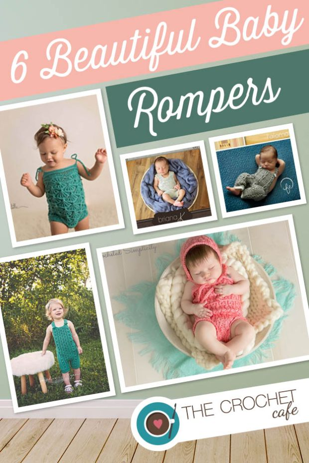 6 Beautiful Baby Rompers