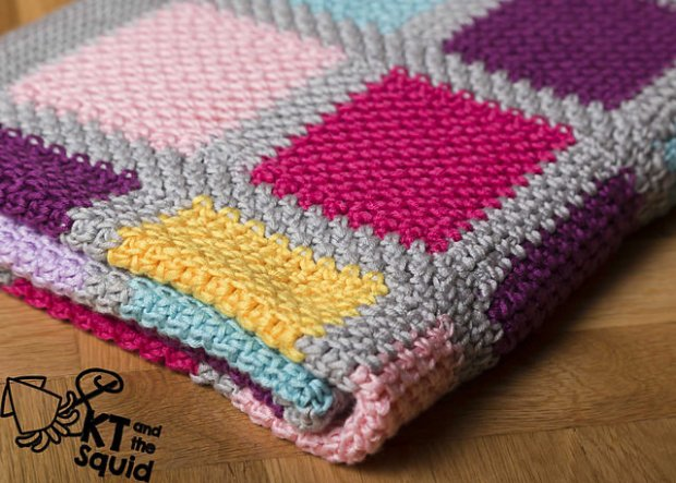 Blanket for mi Nina by KT and the Squid