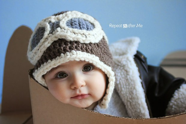 Aviator Hat by Repeat Crafter Me