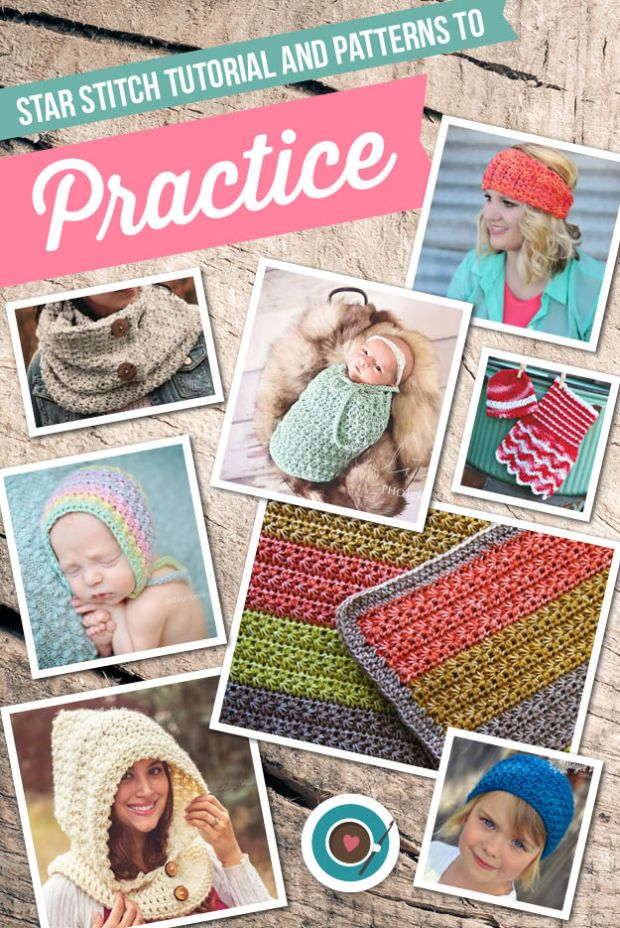 Star Stitch Tutorial and Patterns to Practice (Blog)