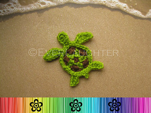 Turtle Applique by Patricia Eggen (everlaughter)