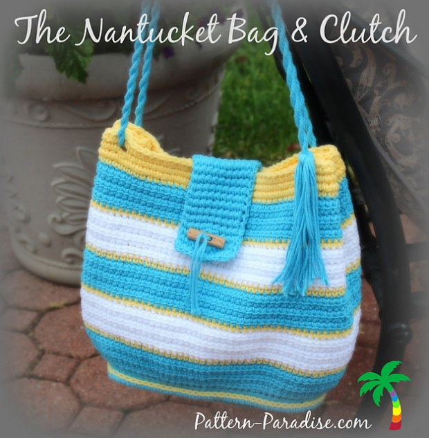 Nantucket Bag by Pattern Paradise