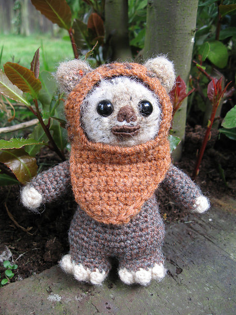 Wicket the Ewok by Lucy Collin (FREE)