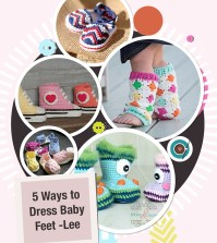 5 Ways to Dress Baby Feet -Lee