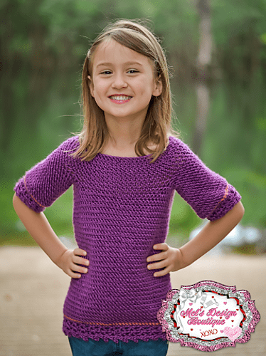 Children's Layla Tunic by Two Brothers Blankets