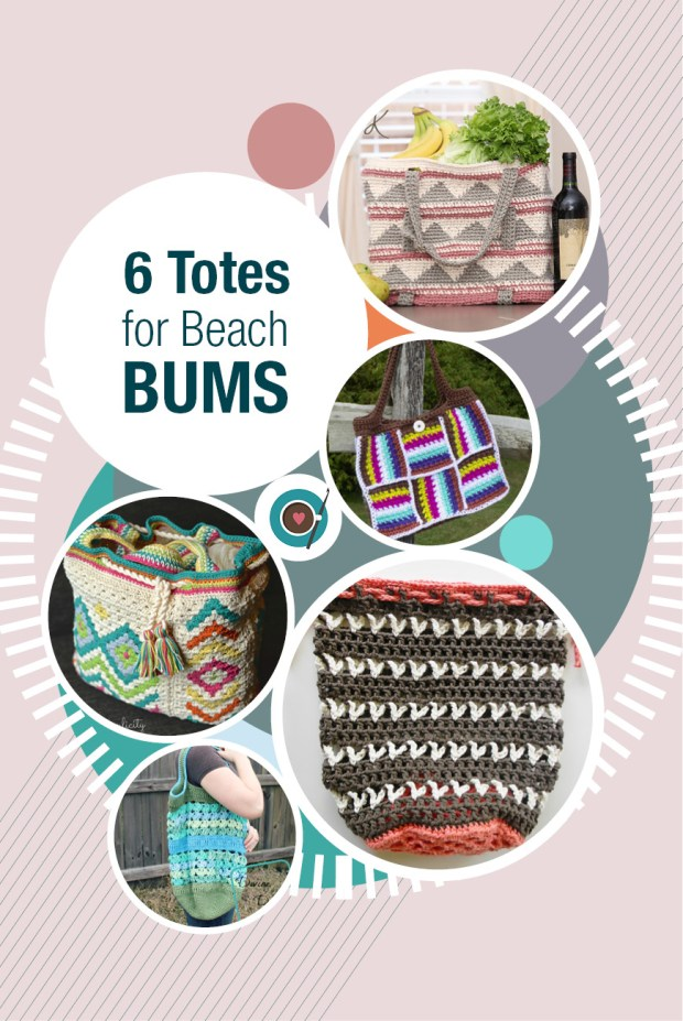6 Totes for Beach Bums