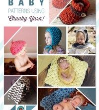 7 Amazing Baby Patterns Using Chunky Yarn