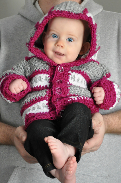 Dylan Cardigan - Infant Sizes by Sincerely Pam