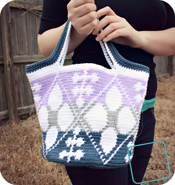 July 25- Whitney Tapestry Tote by Divine Debris