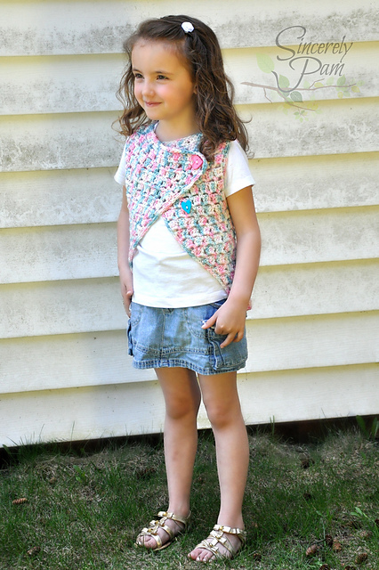 Madison Vest (Child Sizes) by Sincerely Pam