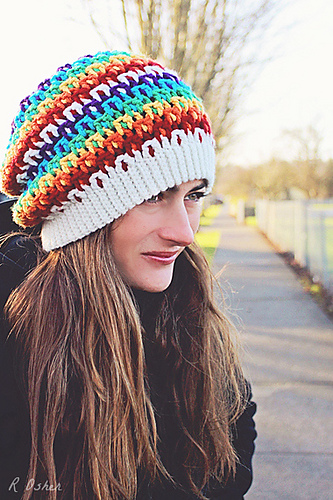 Prism Slouch by Danyel Pink Designs