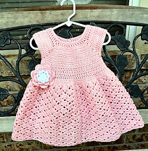 Snap Dragon Toddler Dress by Kate Wagstaff