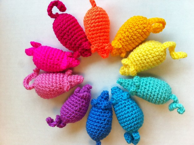 Easy Peasy Catnip Mouse Toy by Meelai