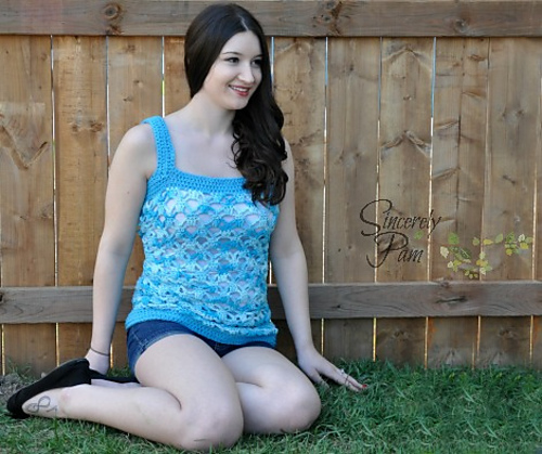 Samantha Tank - Adult Sizes by Sincerely Pam
