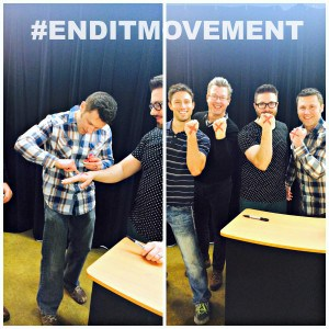Danny Gokey Joe Cross End It Movement Cross Fitness