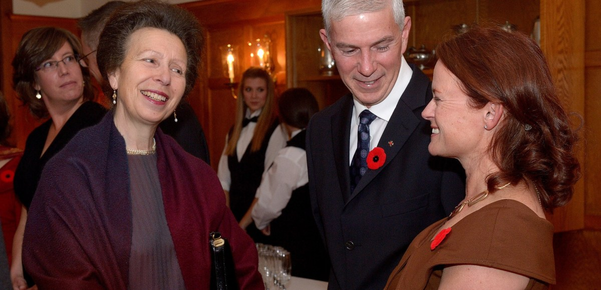 Image result for Princess Anne in Norfolk supporting Motor Neurone Disease care & Save the Children