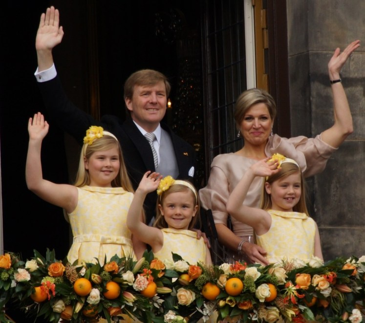 The Dutch Royal Family is one that receives a wage for their work