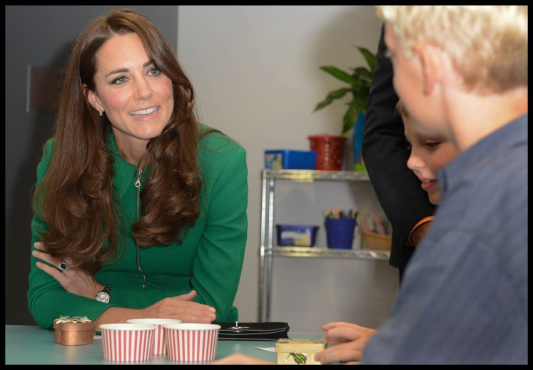 The Duchess of Cambridge visits the Rainbow Place Children's Hospice in Hamilton, New Zealand on the Royal Tour of New Zealand and Australia. Picture by i-Images