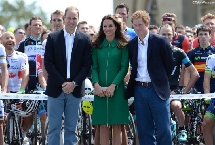 William, Catherine and Harry choose specific areas for The Royal Foundation to help - Splash Images