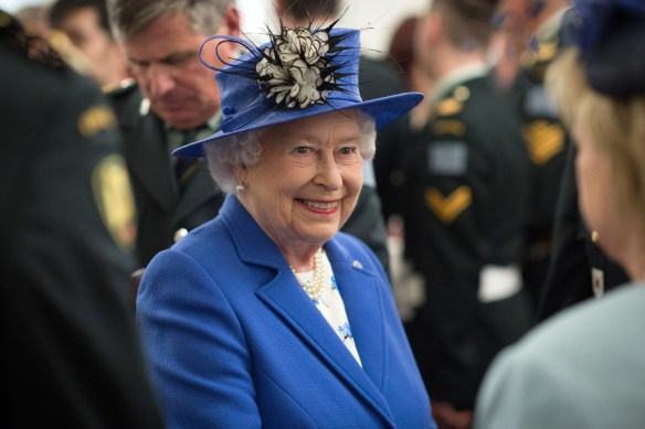 The Queens day is always busy. Picture by: Splash News