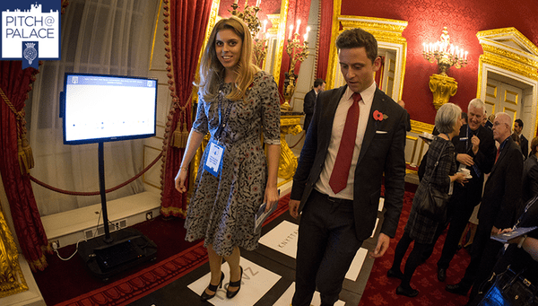 Princess Beatrice attended the event to see entrepreneurs pitch their ideas to investors and mentors. Picture @TheDukeofYork