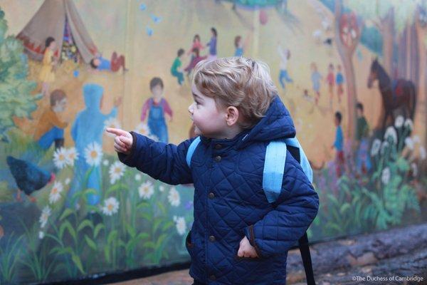 Prince George begins nursery in Norfolk. Kensington Palace