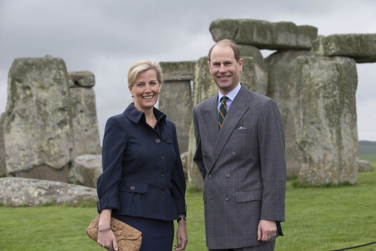 The Earl and Countess of Wessex will be in the Cayman Islands this week. Picture by i-Images