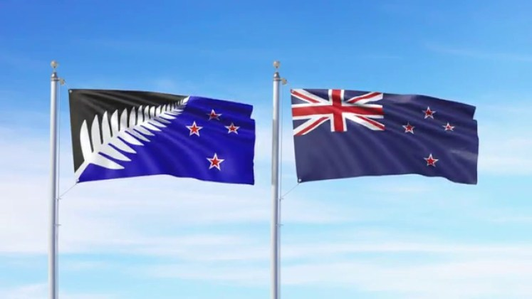The New Zealanders have chosen to keep their original flag.