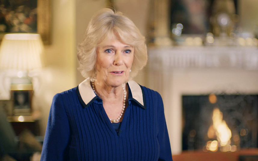 Camilla, Duchess of Cornwall explains The Queen is an equine expert. ITV.
