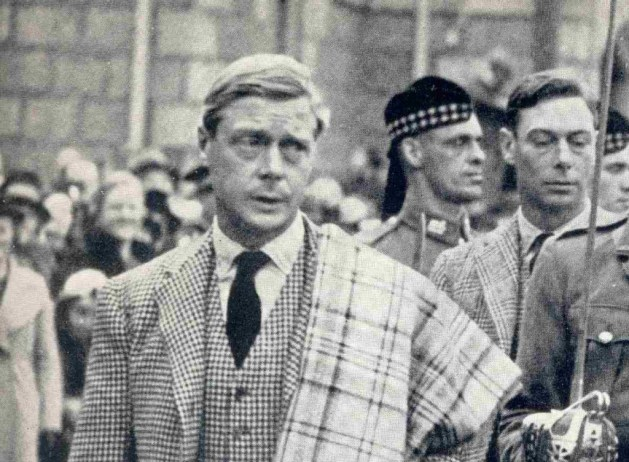 Edward VIII did not think himself deserving of his Military Cross. Gthawk_63)