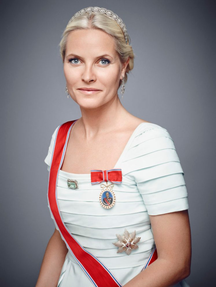 Crown Princess Mette-Marit's 43rd birthday is celebrated with new photos (Jørgen Gomnæs/Royal Court)