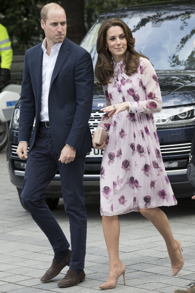 The Duke and Duchess of Cambridge and Prince Harry attended a World Mental Health Day Heads Together event at the London Eye in London. Picture by Stephen Lock / i-Images