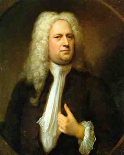 Georg Friedrich Handel composed for Queen Anne, George I, and George II (Wikimedia commons)