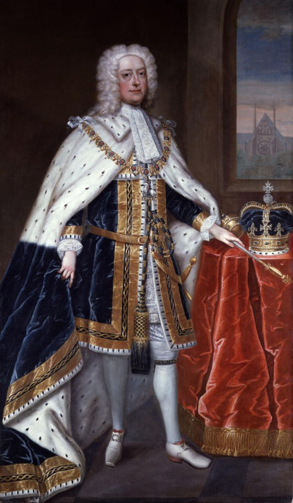 Zadock the Priest and three more anthems were composed for George II's coronation by Handel (Wikimedia commons)