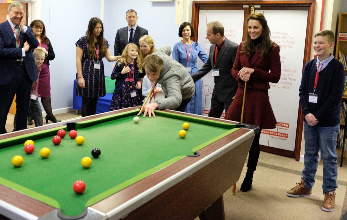 Kate in Wales: first visit as Action for Children patron