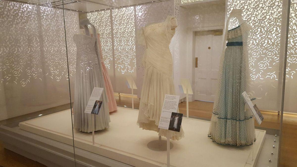 Diana's dresses: exhibition of Princess' sartorial selections at Kensington Palace