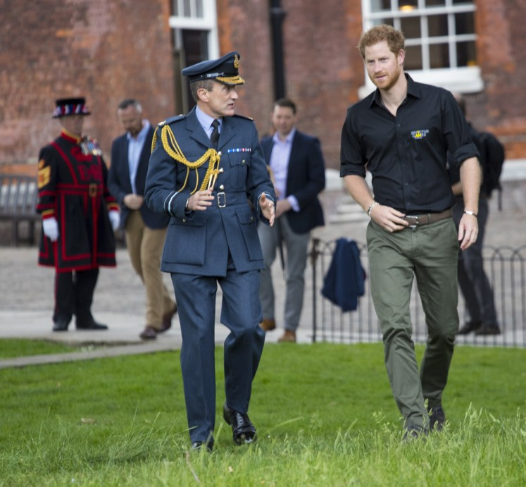 Prince Harry Unveils UK's Invictus Games Team At The Tower