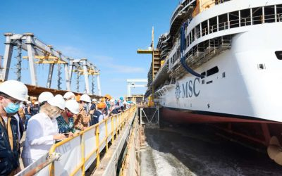 Construction Milestone Reached for MSC Seashore