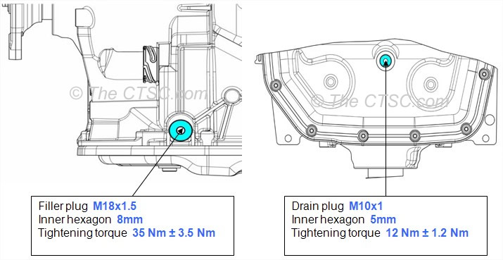 BMW 6HP32 Transmission fluid level procedures with Steel