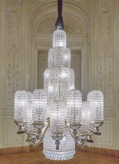 Baccarat_Water jet chandelier.3