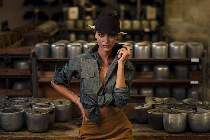 Borsalino campaign _photographer | Helmut Berta