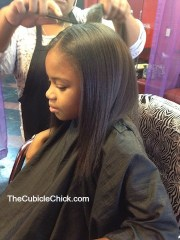 school style natural hair