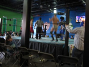 Billy Star, Cameron Salem, Negro Thunder, ? and ?'s Manager