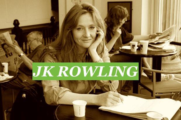 longhand JK Rowling
